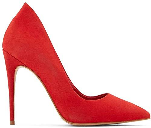 ALDO Women's Cassedy Dress Heel Shoes Stiletto Pump, Red, 11