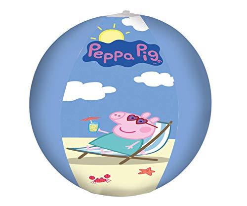 Lively Moments Wasserball / Spielball / Strandball Peppa Pig / Familie Wutz ca. 29 cm