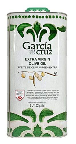 García de la Cruz - Huile d'Olive Extra Vierge - Boîte de Conserve 5L