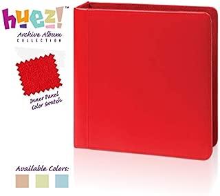 Greeting Card & Keepsake Archive Album (Cherry Red) + Free Extra Album