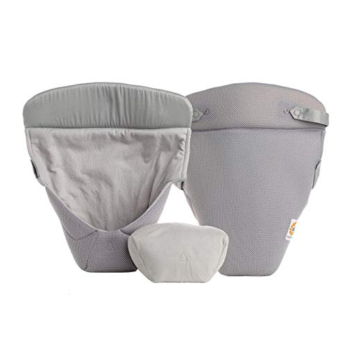 Ergobaby Easy Snug Infant Insert, Grey, Cool Air Mesh