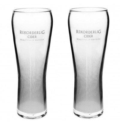 Rekorderlig Cider Pint-Gläser, 568 ml, 2 Stück
