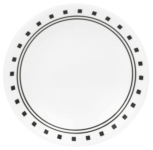 Corelle Livingware 6-3/4-Inch Bread and Butter Plate, City Block