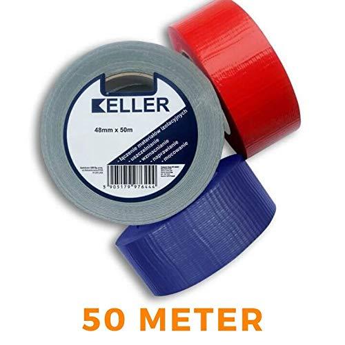 Klebeband KELLER PCV für PE Rohrisolierung Isolierschlauch (Rot)