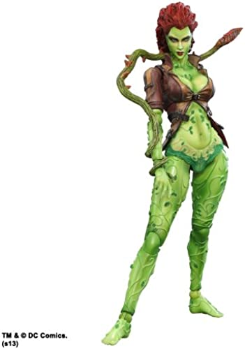 DC Comics Batman Arkham City Play Arts Kai Poison Ivy Action Figur