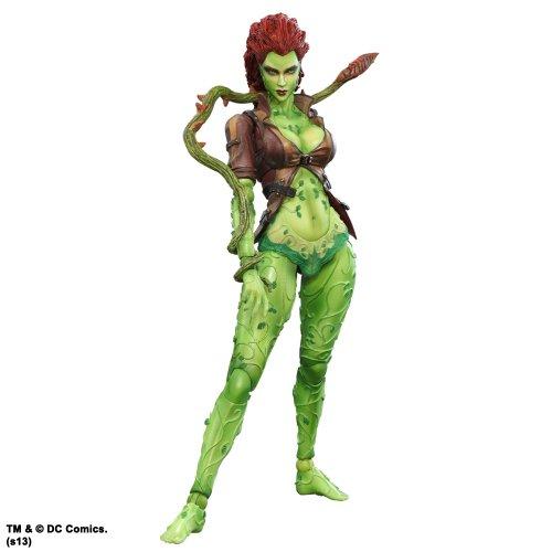 dc comics Batman Arkham City Play Arts Kai Poison Ivy Action Figur