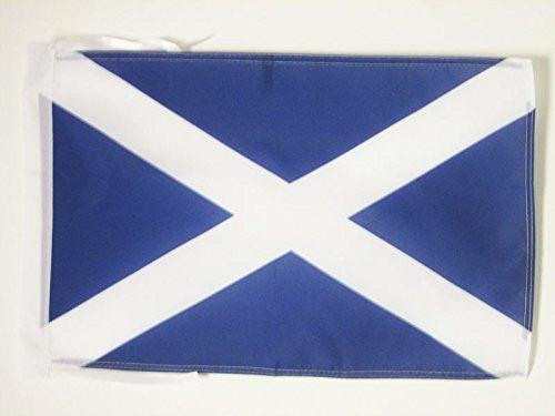 AZ FLAG Flagge SCHOTTLAND 45x30cm mit Kordel - Schottische Fahne 30 x 45 cm - flaggen Top Qualität