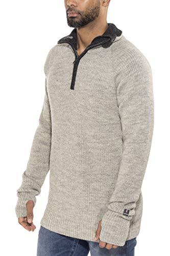 Ulvang Vegard Half-Zip Wool Charcoal Melange/Nature Melange Größe XXL 2017 Midlayer