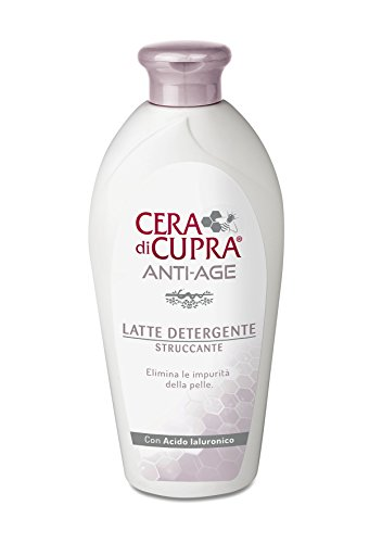 Cera di Cupra Anti-Age Latte Detergente Struccante, 200 ml