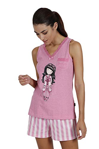 SANTORO Pijama Tirantes Goodnight Gorjuss para Mujer