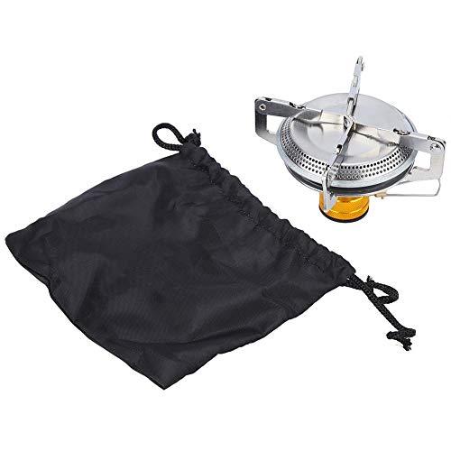 Estufa de Alcohol Ultraligera de Acero Inoxidable Multifuncional para Exteriores con Bandeja de Alcohol para Caminatas de Barbacoa en el Campamento VGEBY1 Estufa de Campamento
