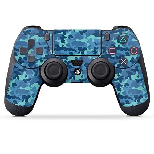 DeinDesign Skin kompatibel mit Sony Playstation 4 PS4 Controller Folie Sticker Tarnmuster Camouflage Bundeswehr