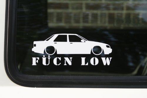 fucn bajo–Adhesivo de coche para Ford Sierra Sapphire Cosworth