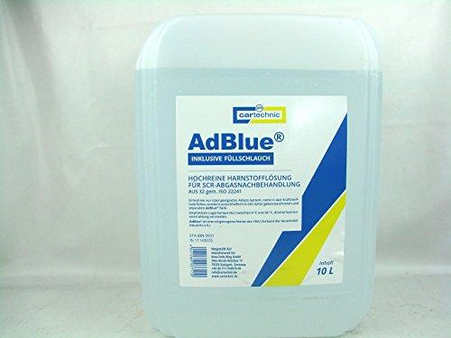 Cartechnic AD Blue Adblue 10Liter inklusive Füllschlauch