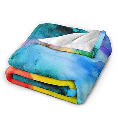 ZHONGKUI Micro Raschel Throw Blanket, Cheeseburger Pizza Slice Tacos Light Weight Cozy-Soft Microfleece Travel Blanket, Gift Choice
