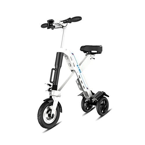 Bici elettriche Biciclette Bicicletta Multifunzione per Adulti Scooter Elettrico Intelligente Generazione di Biciclette Pieghevoli per Adulti Scooter Portatile Ultraleggero Mini Scooter a Due Ruote