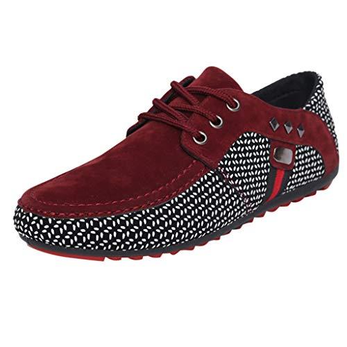 Luckycat Herrenschuhe Turnschuhe Laufschuhe Sneaker Wanderschuhe Freizeitschuhe Denim Leinwand Schuhe Sportschuhe Niedrige Schuhe Stoffschuhe Schnürschuhe