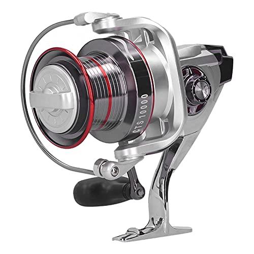 XIAOHUANG CTS10000 13 + 1BB Full Metal Fishing Long Shot Spinning Reel Suministros de Pesca Accesorio Accesorio de Aparejos de Pesca