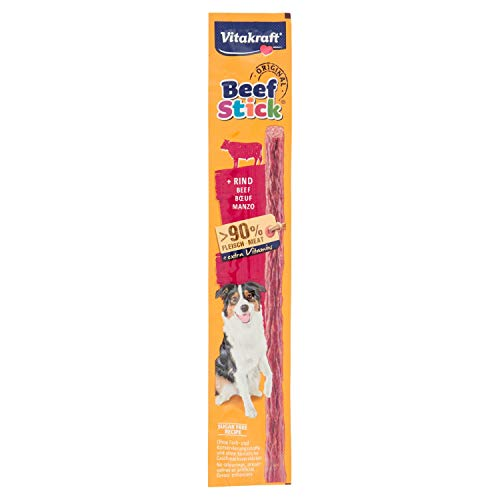 Vitakraft 230094 cani di Snack Bastoncini di manzo bovina, 50 x 12 g