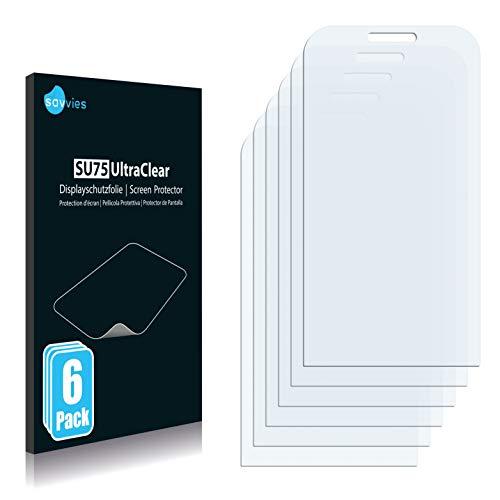 Savvies 6X Schutzfolie kompatibel mit Acer neoTouch P300 Bildschirmschutz-Folie Ultra-transparent