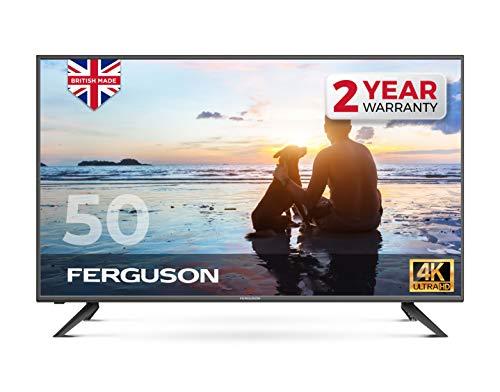 Ferguson F5020DVB4K 50″ inch 4K Ultra HD LED TV with T2 HD, One size,...