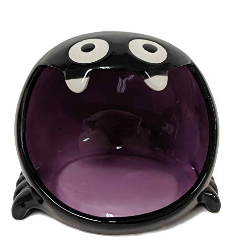 Halloween Süßigkeitenschüssel mit offenem Mund aus Keramik – Spinne