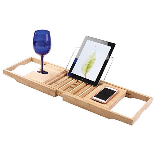 Interdesign 86300EU Formbu Panier de bain Bambou Naturel 69,85 x 21,91 x 4,13 cm