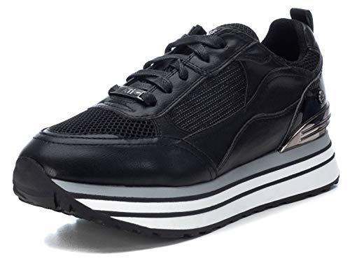 XTI Damen 44683 Sneaker, Schwarz, 36 EU