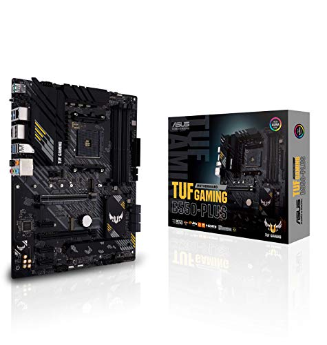 ASUS TUF GAMING B550-PLUS - Placa Base Gaming ATX AMD AM4...
