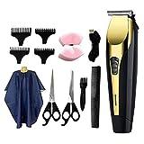 Baosity Household Conjunto de cortadores de cabelo elétricos de carregamento USB sem fio para barbeiros