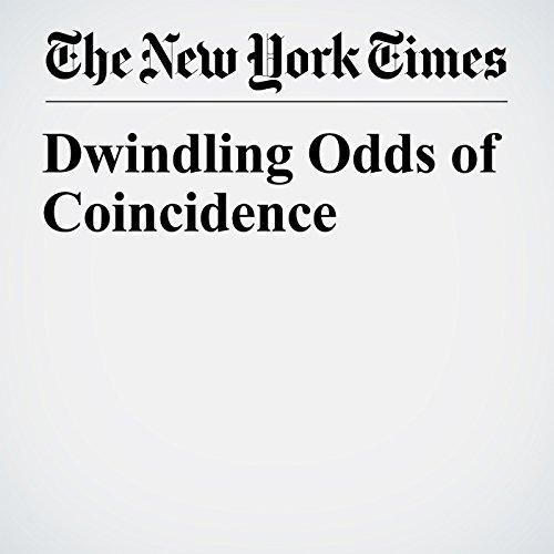 Dwindling Odds of Coincidence copertina
