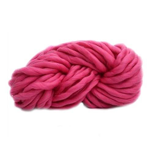 Hilo mullido jumbo 250g Súper voluminoso Brazo de punto Manta de punto Manta de punto Hilado Súper grueso para tejer/Crochet/Alfombra/Sombreros (Color : 03)