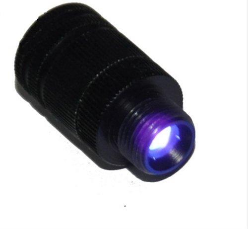 SAS Compound Bow Fiber Optic LED Sight Light 3/8-32 Thread Universal Fit
