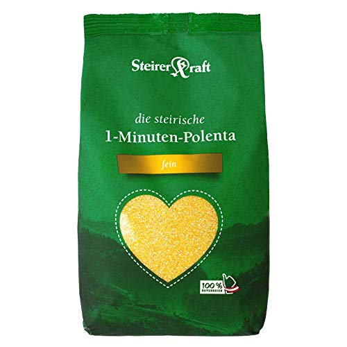 Steirerkraft - Die Steirische 1-Minuten Polenta - Goldgelb (Fein) (600 g)