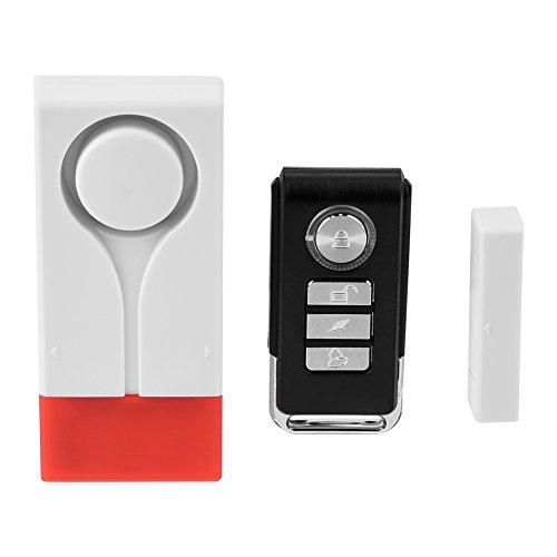 Cafopgrill deurbel met licht en geluid voor deur/ramen