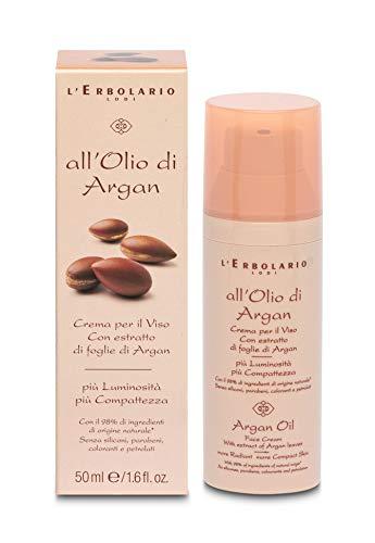 L 'erbolario Olio di Argan Crema Per Il Viso, 1er Pack (1X 50ML)