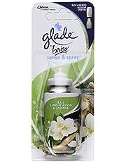 Glade Recambio para Ambientador Automático Sense & Spray con sensor de movimiento, Fragancia Bali Sandalwood & Jasmine , 1 recambio - 18 ml