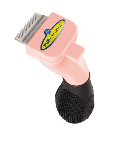 FURminator Fellpflege Fellpflege deShedding-Pflegewerkzeug (für Kleintiere wie Kaninchen oder Frettchen, reduziert das Haaren und verringert Haarballen), 1 stück