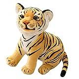 Tigres de Peluche de Juguete de Peluche de Animal de Peluche - 23 cm / 27 cm / 33 cm Realista de Tigre Juguetes de Peluche de Animales, Juguetes para niños / Regalos para niños