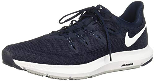 Nike Quest, Chaussures de Fitness Homme, Multicolore (Obsidian/White/Midnight Navy/Wolf Grey 400), 44 EU