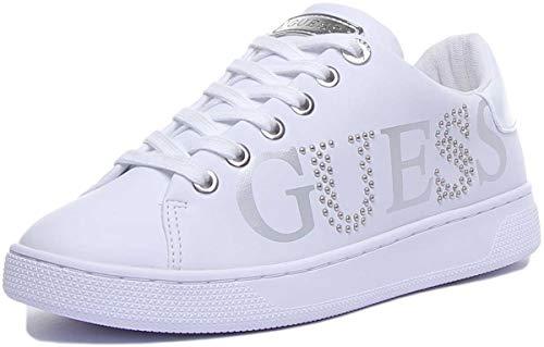 Guess Damen Sneaker Sneaker Größe 37 EU Weiß (Weiss)