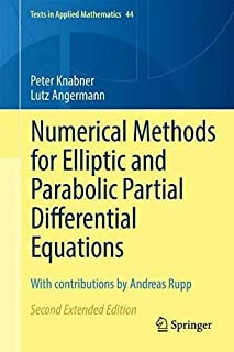 Numerical Methods for Elliptic and Parabolic Partial Differential Equations: With contributions by Andreas Rupp: 44