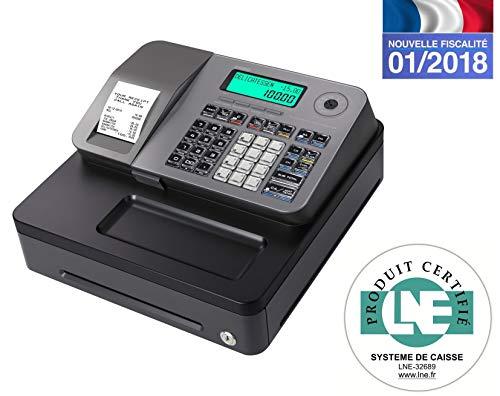Casio SE-S100SB-SR-FR Registratiekoffer, zilverkleurig