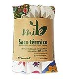 Saco térmico de semillas y hierbas multiusos (47cm x 15cm) Lavanda - MITE (Flores de colores)
