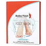 Baby Foot Moisturizing Foot Mask - NON PEEL 15-Minute Treatment - Unscented