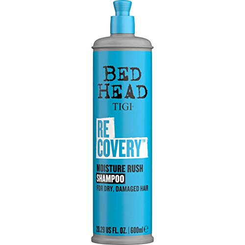 Bed Head by TIGI Recovery Moisturizing Shampoo for Dry Hair 600ml (Pack of 3)