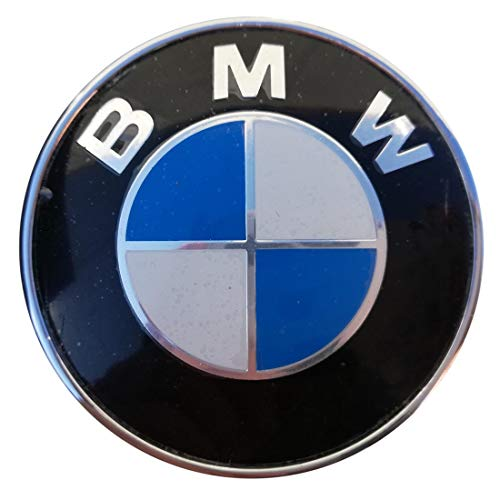 Emblem for capo or trunk of 74mm Badge color Black.