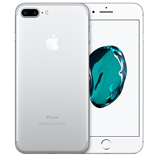 "Apple iPhone 7 Plus Smartphone 4G (Display: 5,5"" - 128 GB - iOS 10) Nero (Jet Black) (Ricondizionato)"