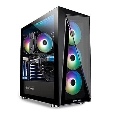 iBUYPOWER Pro Gaming PC Computer Desktop Slate 4 MR 198i (Intel i5-11400F 2.6GHz,NVIDIA GeForce GT 1030 2GB, 8GB DDR4…