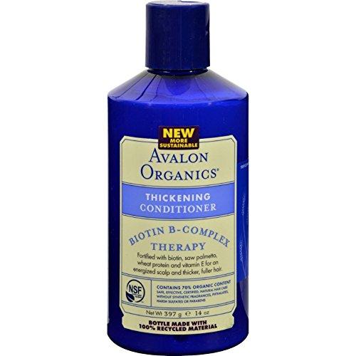 Avalon Organics épaississement biotine B-Complex Conditioner Thérapie 415 ml